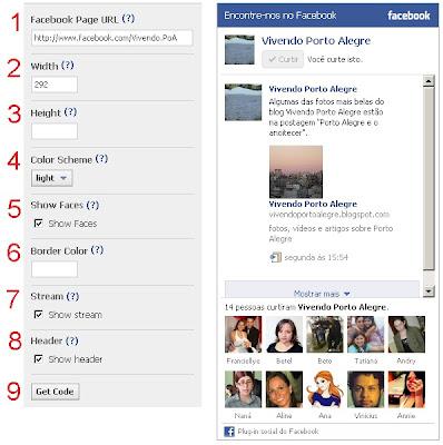 plugin social do Facebook