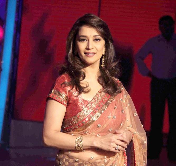 Madhuri Dixit Hottest Romance Scenes with SRK