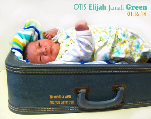 ismoyo's vintage playground - Newborn baby announcement - vintage suitcase - photo inspiration