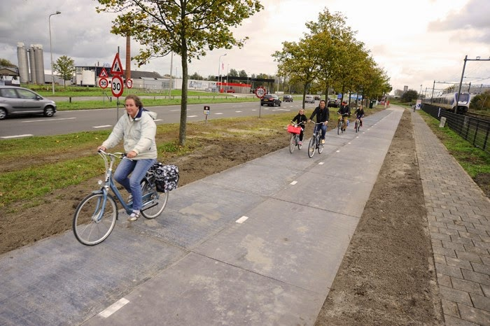 Netherlands Is The 1st Country To Open A Solar Road For Public Use
