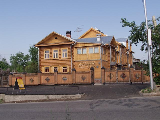 усадьба Разгуляй, город Томск