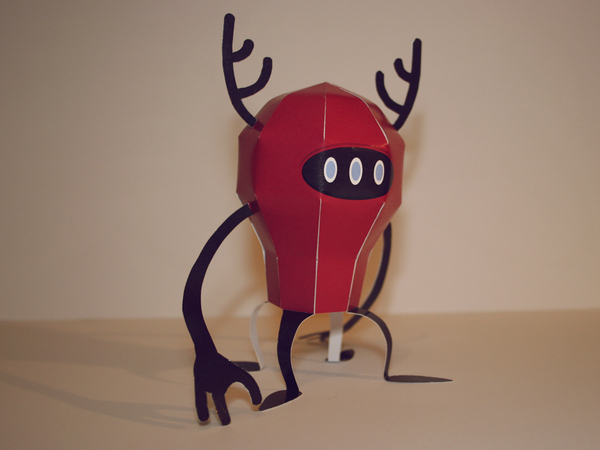 RedBaloon Paper Toy