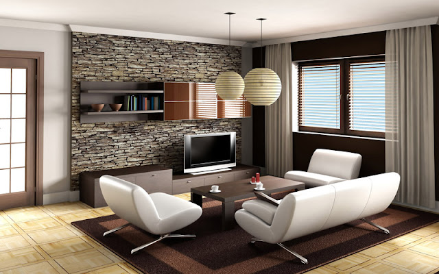Modern Luxury living room photo