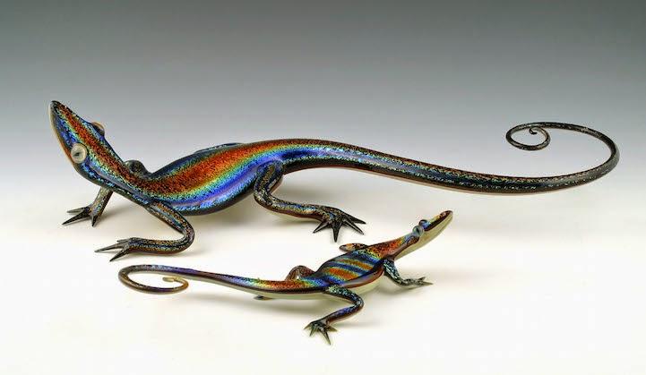 hand blown glass creatures sculptures scott bisson-8
