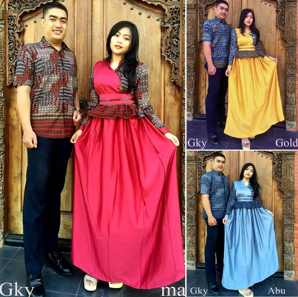 Model baju batik modern tahun ini - Model Baju Batik Wanita 2016 Baju Batik Trend 2016 Baju Gamis Gamis Murah Gamis