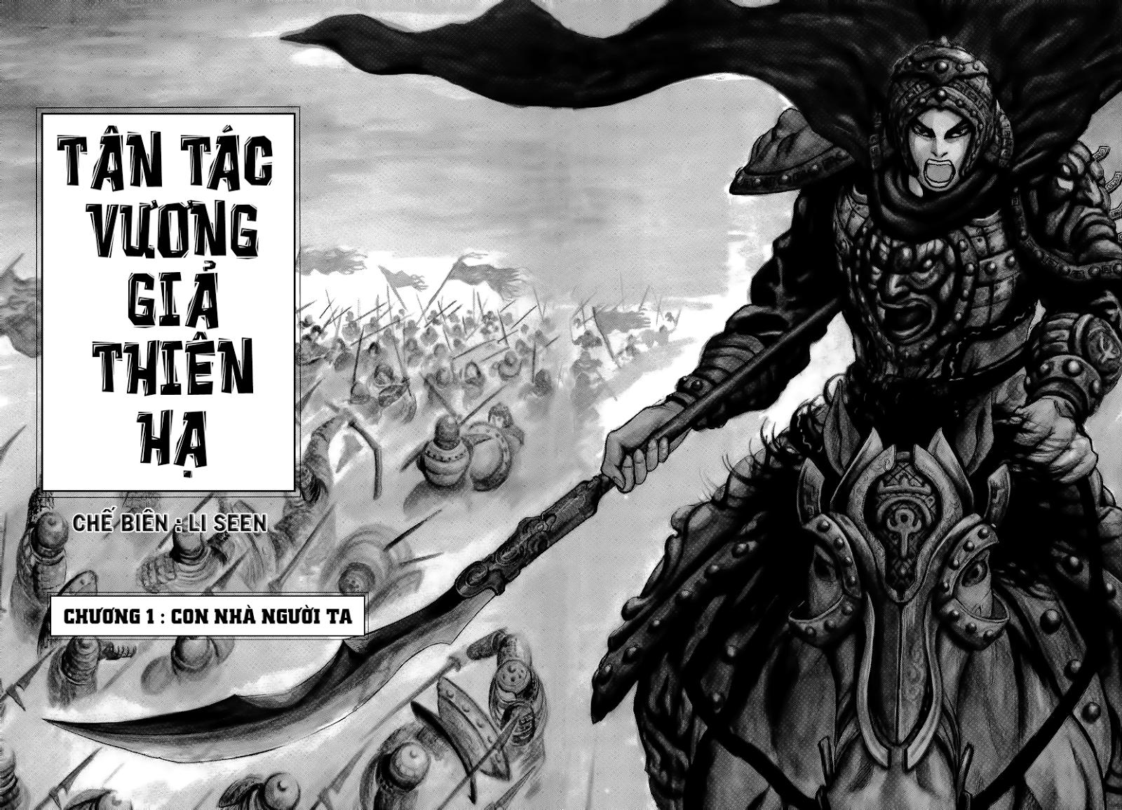 Kingdom - Vương Giả Thiên Hạ Chế Chapter 403  page 2 - IZTruyenTranh.com