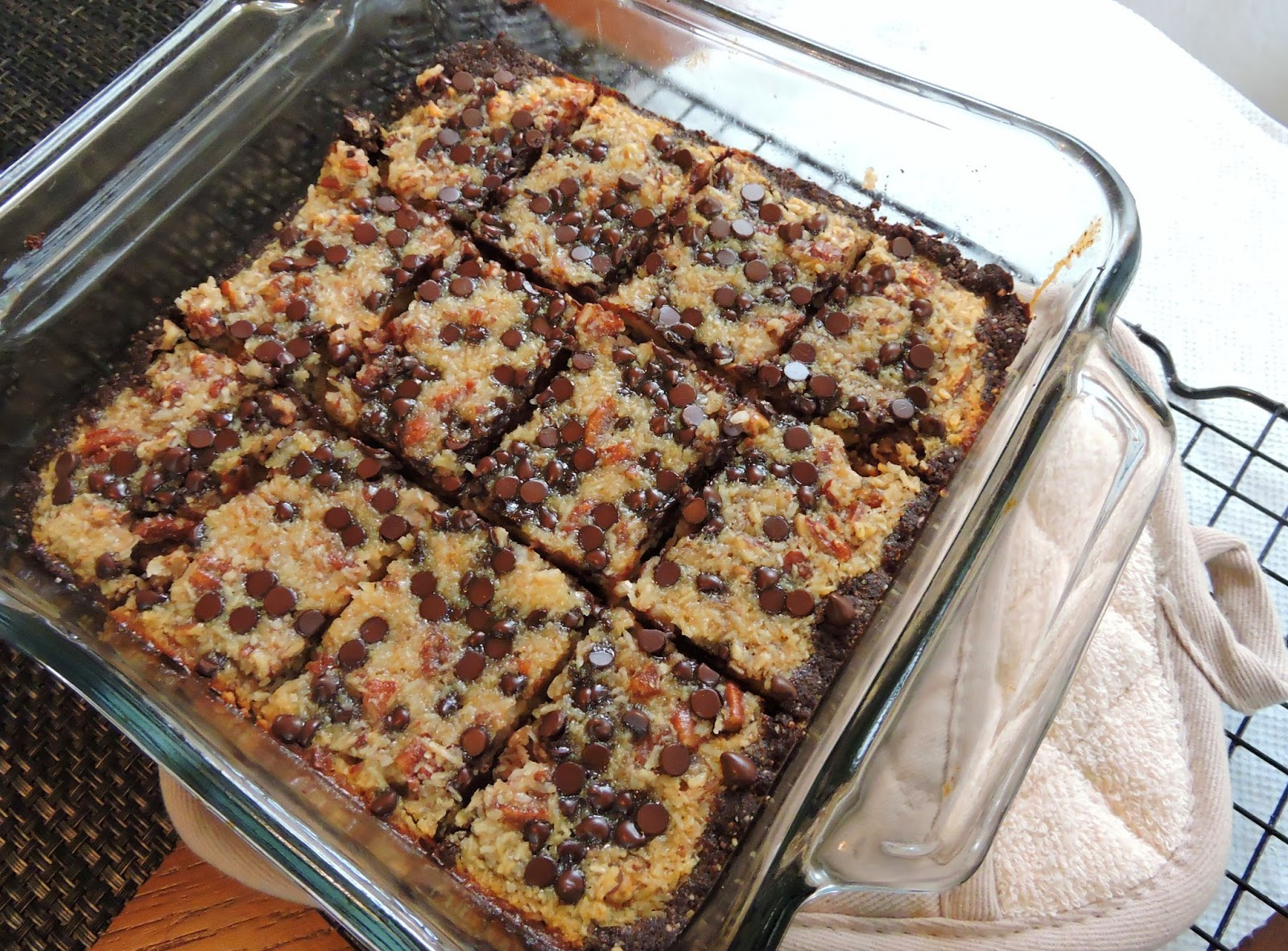 German chocolate cake bars recipe from paula deen