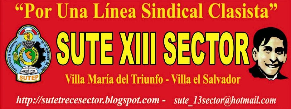 SUTE 13 SECTOR