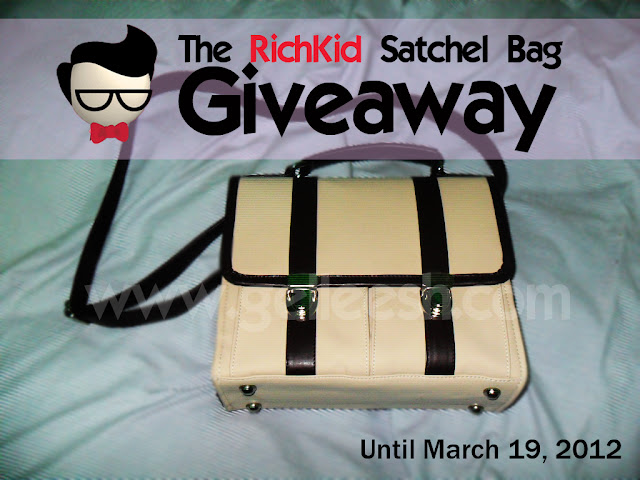 Satchel bag giveaway