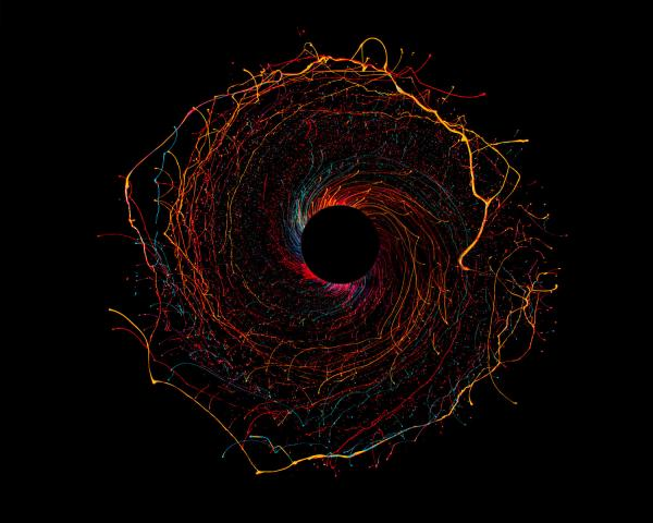 Stunning Black Hole by Fabian Oefner