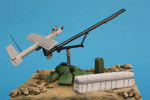 For Sale on Ebay - Silver Fox and launcher on Weapons Mount