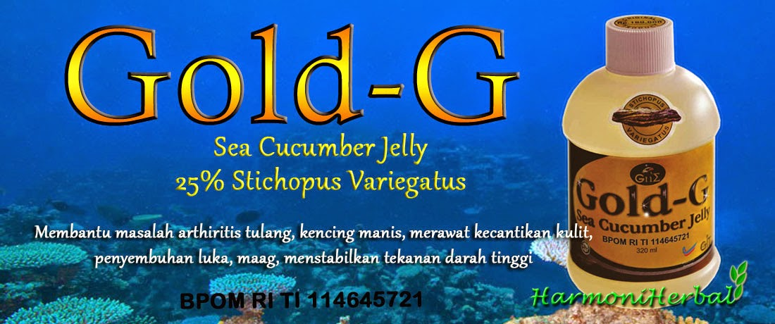 Promo Grosir Jelly Gamat Gold G