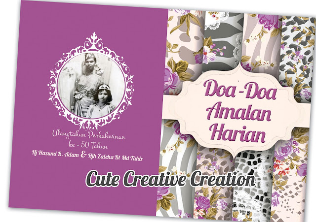 doorgift buku doa