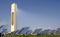 torre solar concentracion