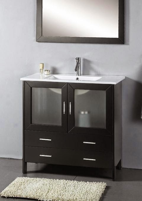 modern bathroom furniture vanity cabinet set