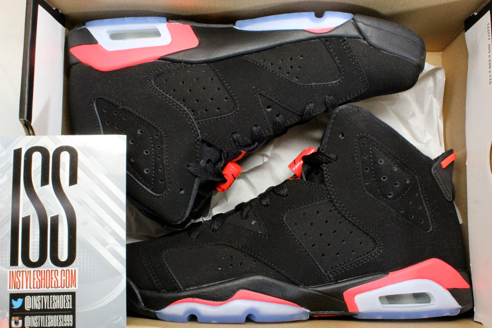 instyleshoes   new arrivals  u0026 discussions about past releases  air jordan 6 retro gs black