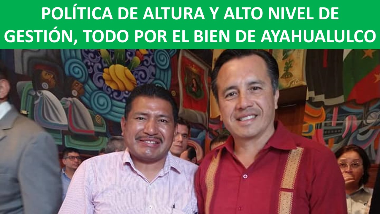 POR EL BIEN DE AYAHUALULCO