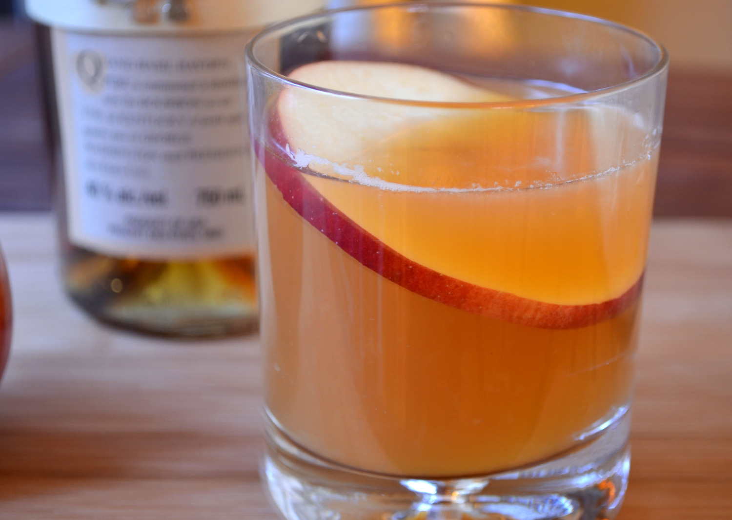 Test Kitchen: Bourbon Cider Cocktail