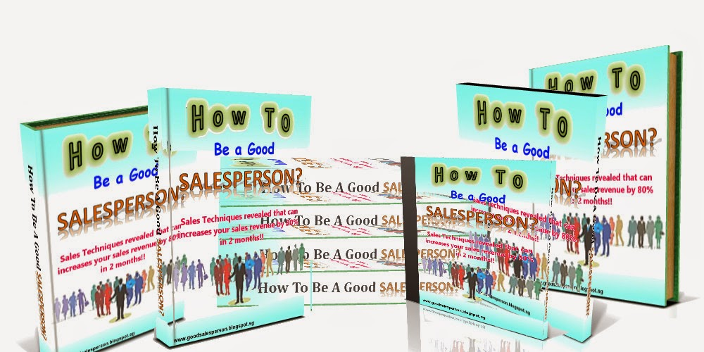 How to be a Good SalesPerson Group