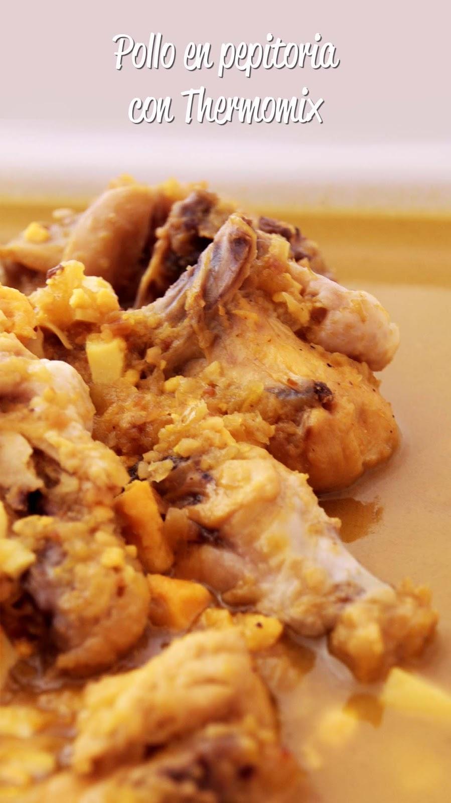 Cocina para novatos en tiempos de crisis pollo en pepitoria thermomix - Cocina para novatos ...