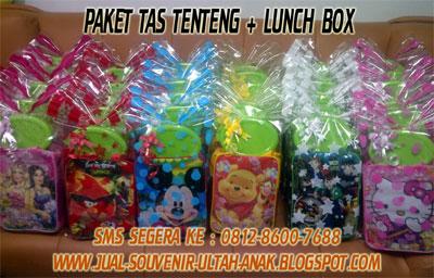 ransel tas tenteng ransel paket tas tenteng dengan thanks card