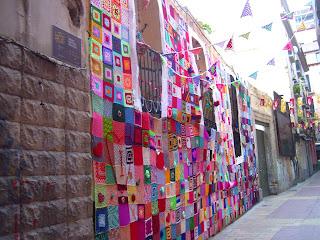 Ganchillo Urban Knitting Zaragoza Calle Libertad creaciones de ganchillo