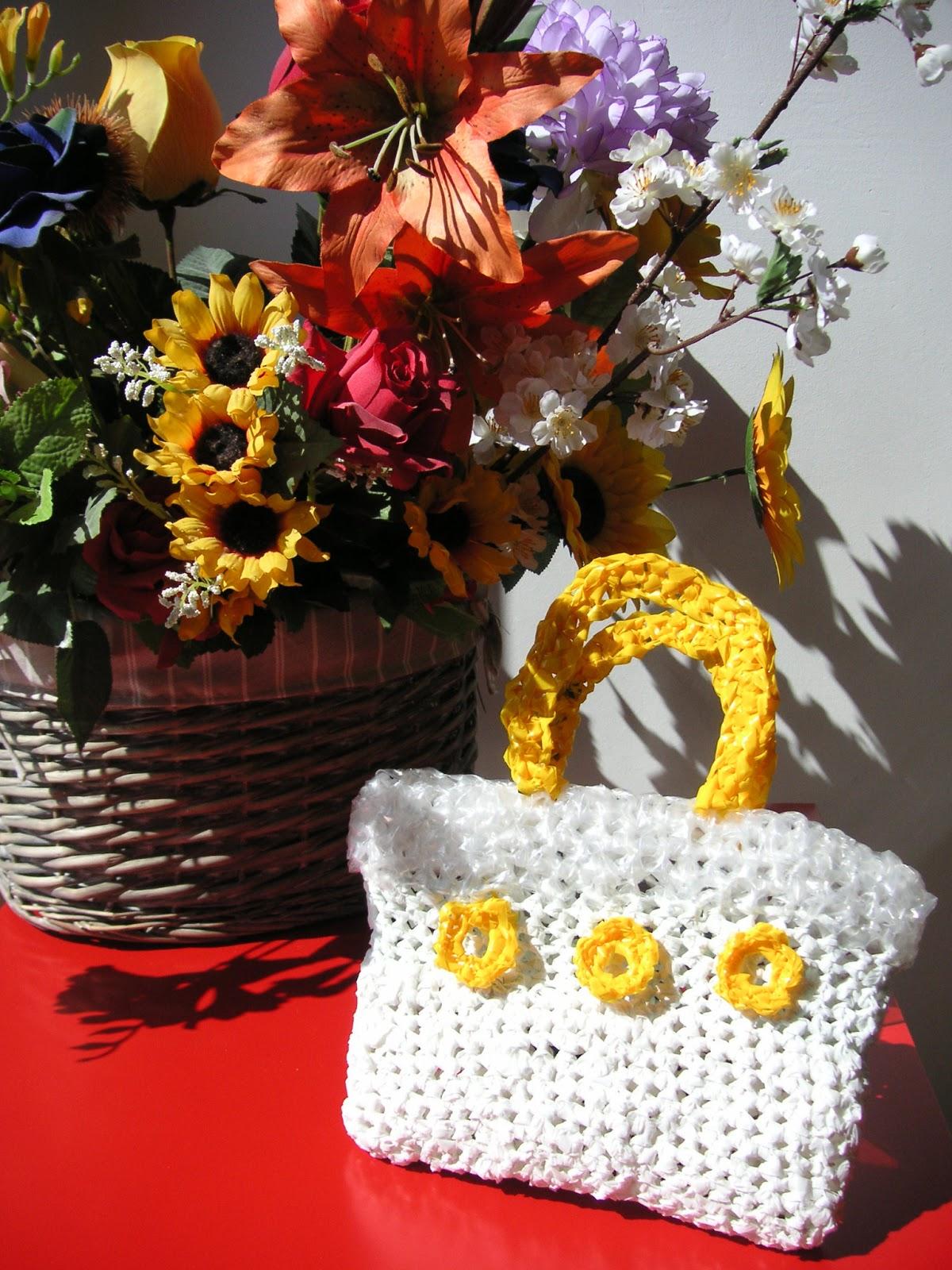 Borse Di Plastica Di Moda : Le cose della anto borse di plastica ecologiche all
