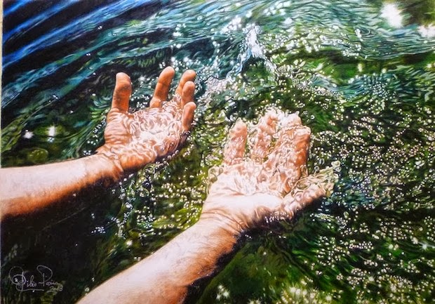 unbelievable colored pencil drawings