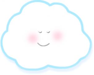 Nubes infantiles para imprimir imagenes y dibujos para imprimir - Imagenes de nubes infantiles ...