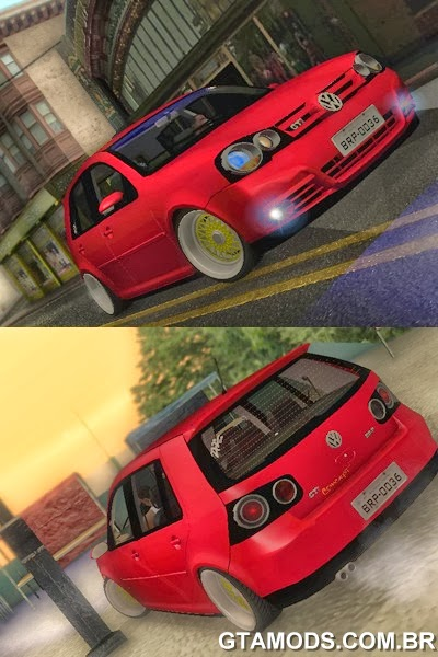 Vw Golf GTI 2008 Edit + Roda BBS