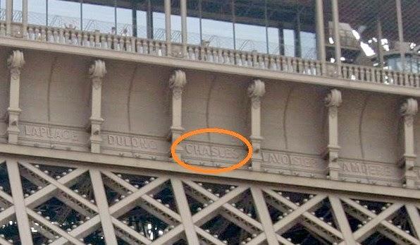 Bagian Balkon Menara Eiffel