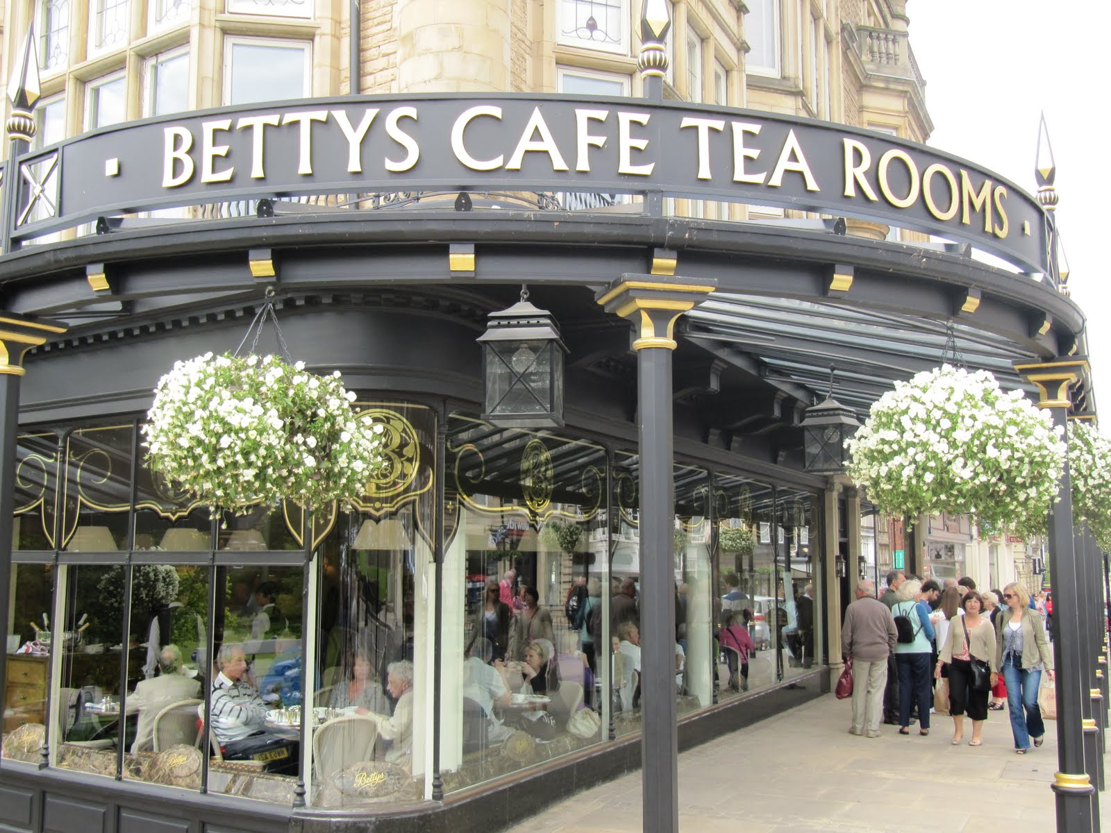 Posh Tea Rooms In Yorkshire