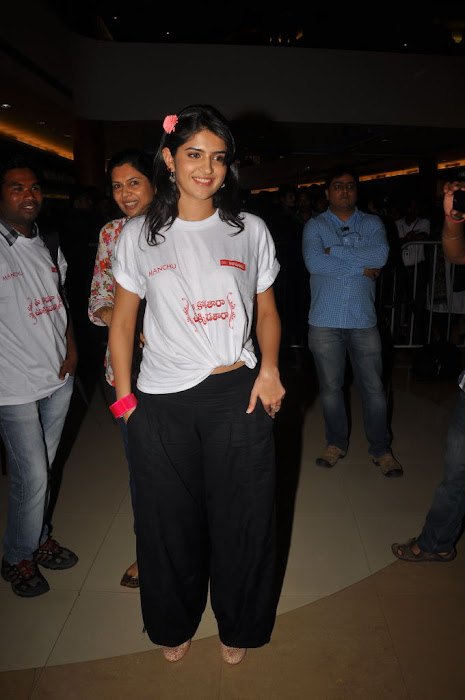 deeksha seth at inorbit mall for ukup promotion unseen pics