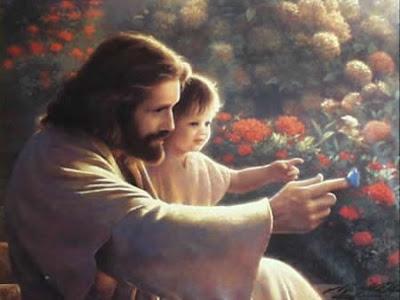 Jesus haciendo oracion