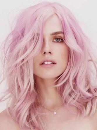 coloração- cabelo rosa- dicas - tendências 2016
