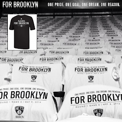 NBA 2K14 Brooklyn Nets Playoffs Crowd Mod : T-Shirt