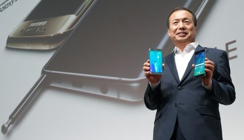JK Shin Dalam Acara Global Unpacked Samsung Galaxy Note 5