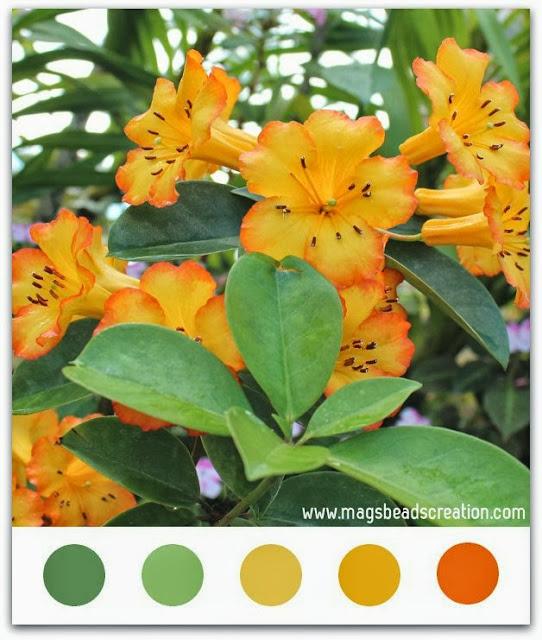Color Inspiration - magsbeadscreation.com