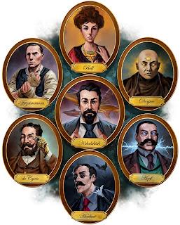 lukas thelin, fenix, 2013, steampunk spies, portraits
