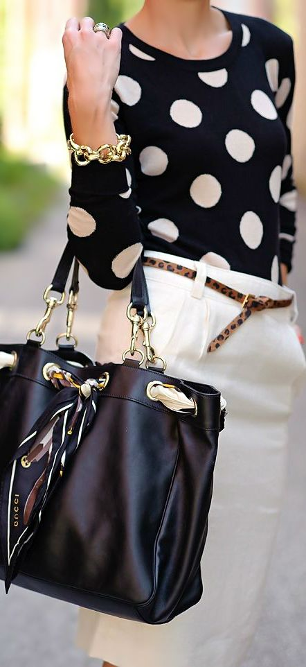 Top 10 Most Beautiful Dot Print Wears