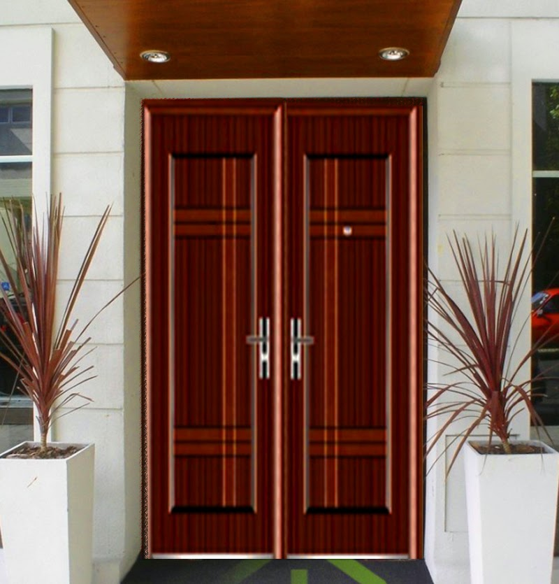 Pintu rumah minimalis maret 2015 for Modern minimalist door design
