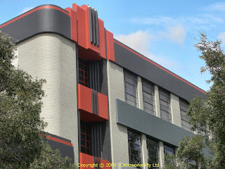Opera Australia facade detail