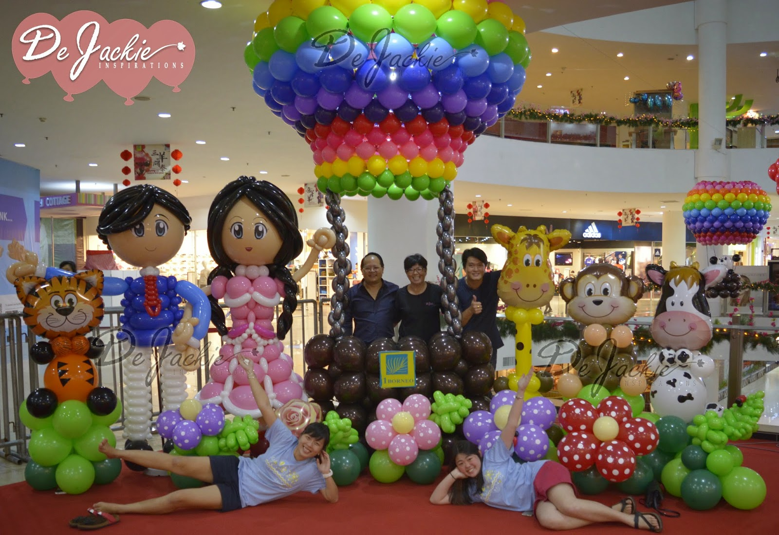 Balloon decorations for weddings birthday parties balloon kota kinabalu 1borneo hypermall valentines day balloon decoration junglespirit Image collections
