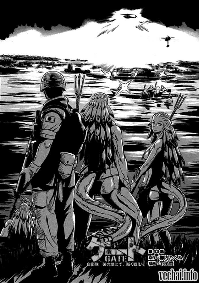 Gate – Jietai Kare no Chi nite, Kaku Tatakeri chap 43 Trang 1 - Mangak.info