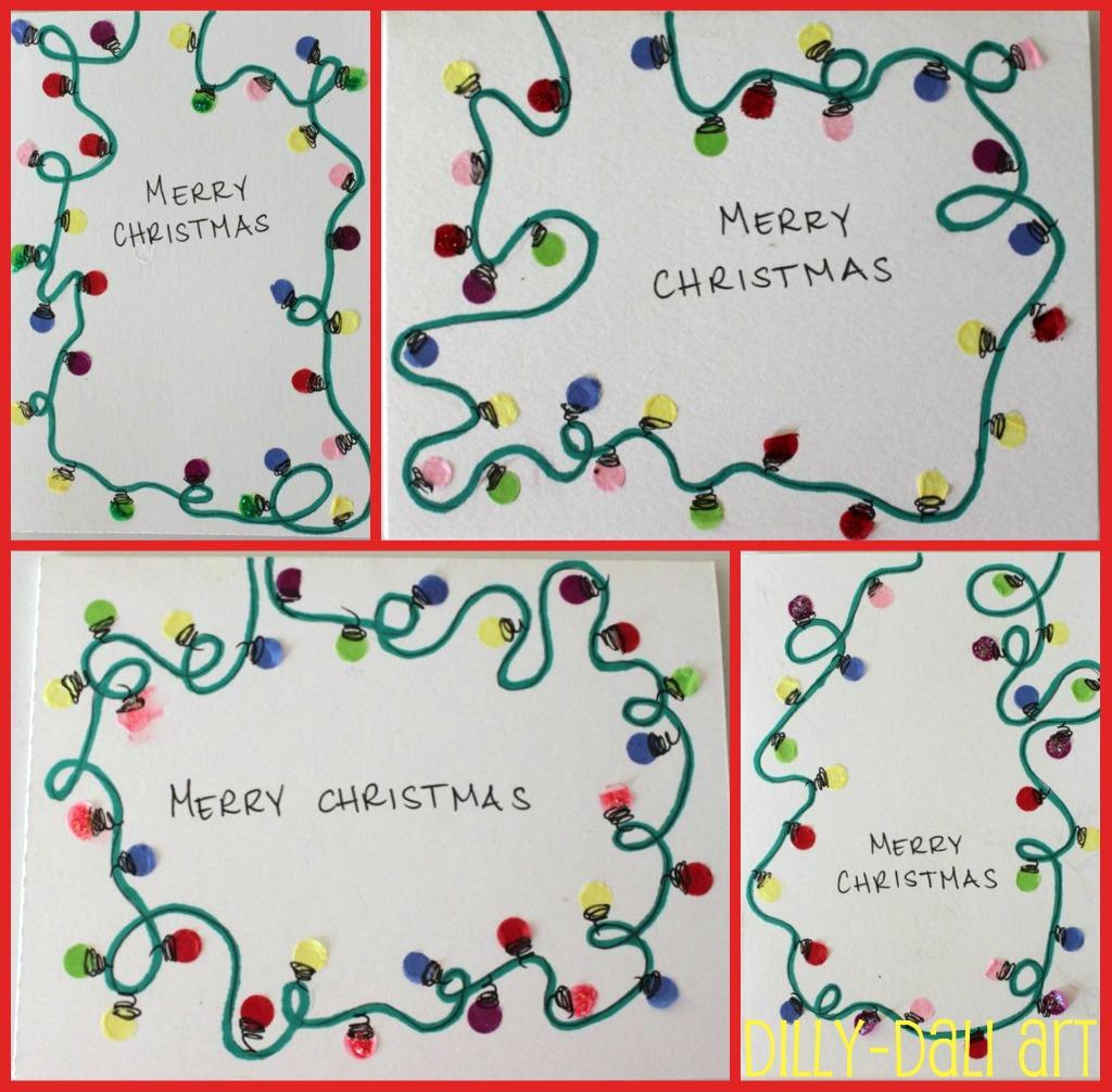 Dilly-Dali Art: Creative Christmas Countdown: Day 2 {Homemade ...