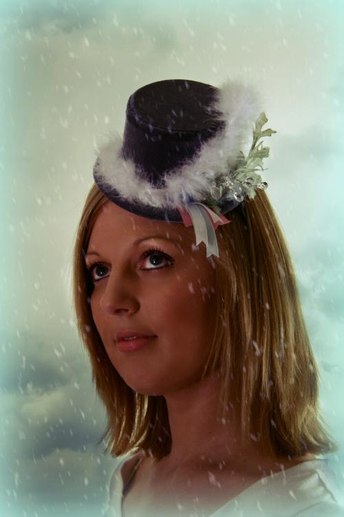 Winterwood mini top hat by Tanith Rowan Designs