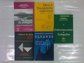 COLEÇÃO DIVULGAÇÃO CIENTÍFICA-13 VOLUMES JÁ PUBLICADOS