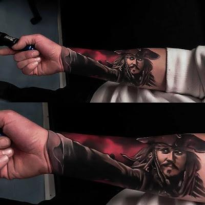 Tatuaje Jack Sparrow