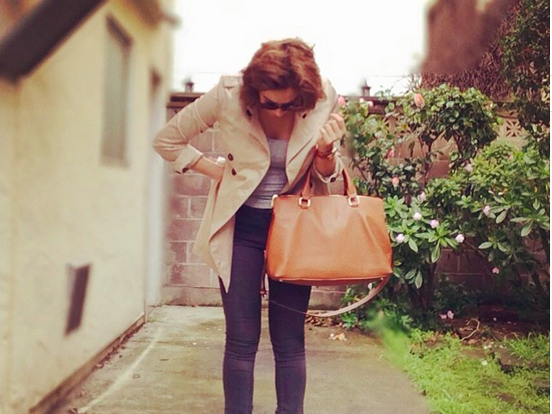Spring Neutrals: Trenches, Cognac Leather Everything