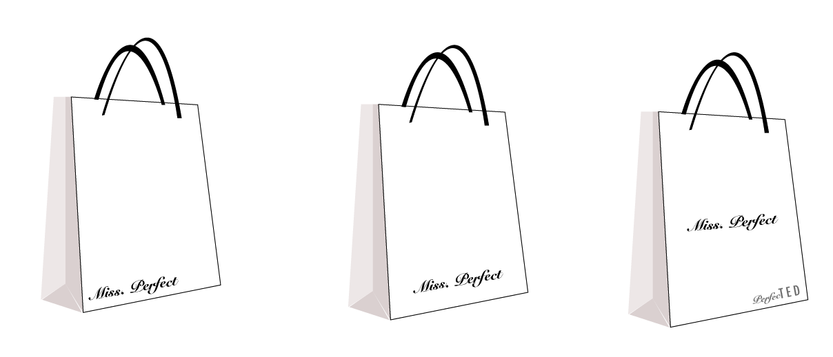 Shopping Bags Design Template Final Shopping Bag Design
